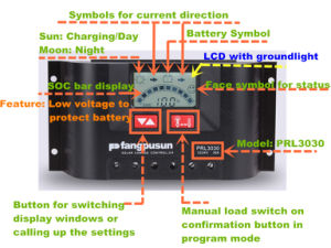 Warranty 2 Years PWM Soc Control 30A 20A 10A LCD Solar Charge Controller pictures & photos