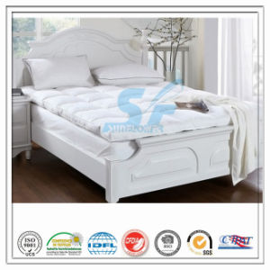 Washed White Goose Down Quilt Comforter Mattress Protector pictures & photos