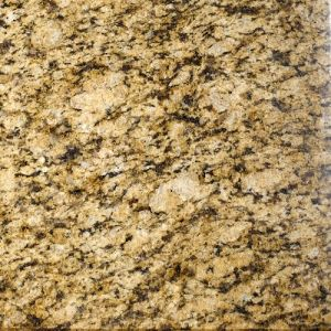 Polished Natural Granite Tile / Slab Crystal Giallo