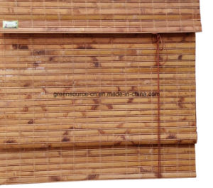 Rolling and Roman Bamboo Blinds (bamboo curtains) pictures & photos