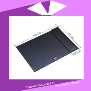 Emboss PU A4 Paper Holder for Hotel Item P015-016 pictures & photos