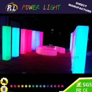 LED Furniture Garden Waterproof Plastic Lawn Pillar Lamp pictures & photos