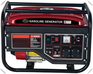Electric 2kw Generator for Home Use with Wheels (3500E-C) pictures & photos