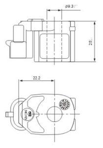 Solenoid Valve Coil Connectors, DC12V, 24V, AC110V, 220V, 50Hz/60Hz pictures & photos