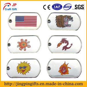 Custom China Supplier Metal Dog Tag, Soft Enamel Pet Name Tag pictures & photos