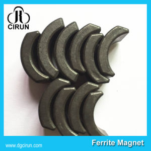 Custom Size Arc Shape Ceramic Ferrite Motor Magnet pictures & photos