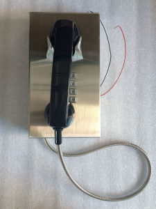 Stainless Steel Emergency Telephone Knzd-10 Prison Phone Kntech pictures & photos