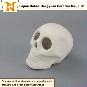 Ceramic White Skull Halloween Decoration pictures & photos