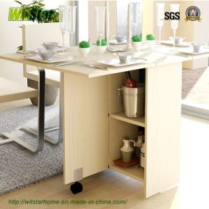 Modern Foldable 6 Person Dining Table (WS16-0250, for dining room/office)