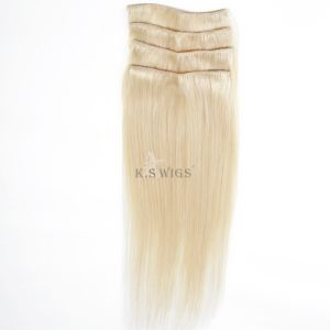 100% Virgin Remy Human Clip in Hair Extension pictures & photos