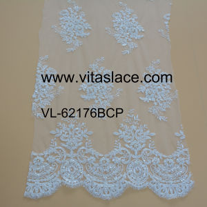 Factory Wholesale Lace Fabric Low Price Wedding Vl-62176bcp