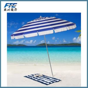 Giant 8′ Rainbow Beach Umbrella pictures & photos