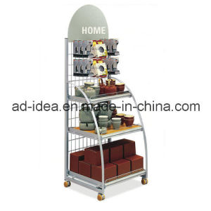 Supermarket Retail Metal Display Stand / Portable /Useful/Display/Exhibition pictures & photos