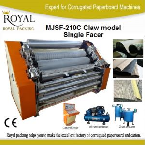 Single Facer Machine Claw or Finger Type Flute Machine pictures & photos
