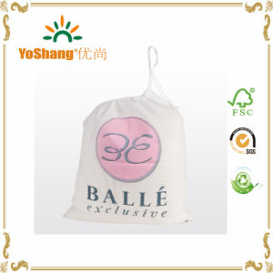 Cotton Drawstring Bag Canvas Gift Packing Pouch Customs Logo Printing pictures & photos