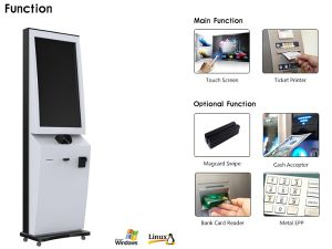 40 Inch Large Screen Ticket Vending Machine for Movie Theatre pictures & photos