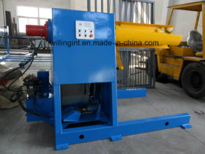 5t Tons Color Steel Sheet Metal Simple Hydraulic Decoiler Without Coil Car pictures & photos