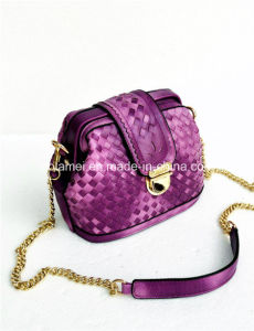 2015 PU New Collection Clutch Bag Shoulder Bag with Braiding (L1532)