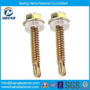 Grade8.8 Steel Color Zinc Plated Self Drilling Roofing Screw pictures & photos
