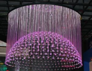0.75mm Plastic Optical Fiber Chandelier
