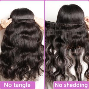 Guangzhou Suppliers 7A Grade Unprocessed Virgin Brazilian Human Hair (QB-BVRH-BW) pictures & photos