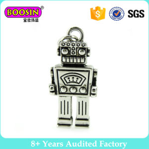 Silver Plating Wholesale Robot Pendant Charms pictures & photos
