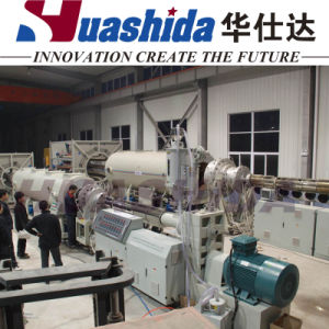 PE Jacket Pipe Extrusion Line Plastic Pipe Extruder (960-1680mm) pictures & photos
