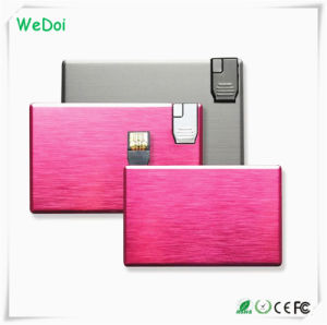 Elegant Metal Card USB Pendrive with Customized Logo (WY-C04) pictures & photos