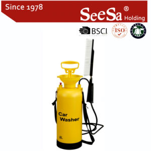Plastic Knapsack Pressure Portable Car Washer Sprayer pictures & photos