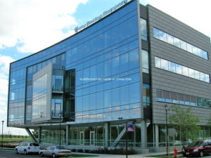 Huge Energy Reduction Low E Glass Curtain Wall pictures & photos