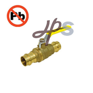 NSF Standard Low Lead Brass Pex Ball Valve Manufacturer pictures & photos