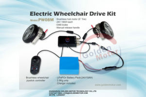Folding Power Wheelchair, Light Weight pictures & photos