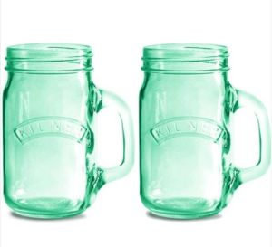 Glass Mason Jar with Handle, Drinking Glass Mason Jar pictures & photos