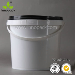 PP 5 Liter Food Grade Plastic Bucket with Lid and Plastic Handle pictures & photos