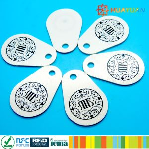 13.56MHz MIFARE Classic 1K RFID Pear Glassfiber Keyfob pictures & photos