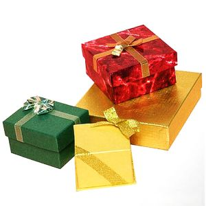 Paper Gift Box for Christmas Day pictures & photos