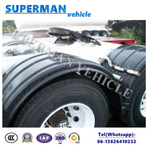 Two Axle Drawbar Dolly Trailer/ Full Puling Semi Trailer pictures & photos