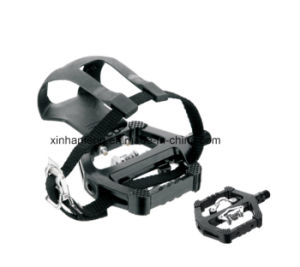 Aluminum Body and Nylon Cage Bicycle Pedal for Ecercise (HPD-019) pictures & photos