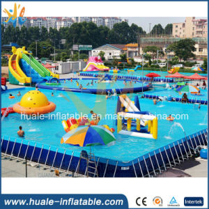 Large PVC Portable Metal Frame Swimming Pool for Water Park pictures & photos
