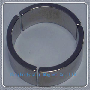 Permanent Sintered Neodymium Segment Magnet for High Speed Motor pictures & photos