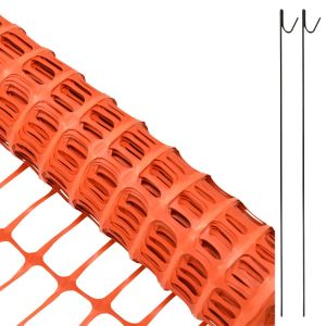 China Wholesale HDPE Orange Snow Fence (OSF) pictures & photos