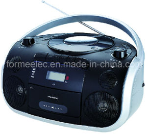 Portable DVD CD MP3 Boombox Player with Cassette Recorder pictures & photos