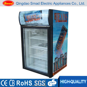 Portable Compact Hotel Beverage Advertising Small Size Commercial Mini Fridge pictures & photos