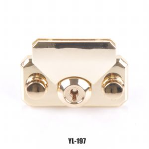 Fashion Metal Locks for Jewelry Box Lady′s Bag Accessories Handbag Insert Lock