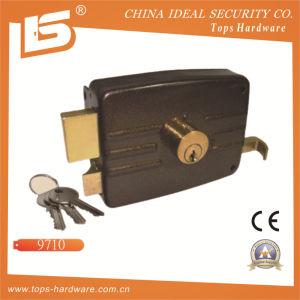 Security High Quality Door Rim Lock (9710) pictures & photos