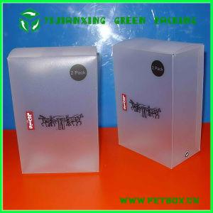 Matte Plastic Transparent Folding Box pictures & photos