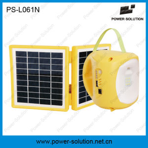 Double Solar Panel High Efficiency Green Lantern with Mobile Charger pictures & photos