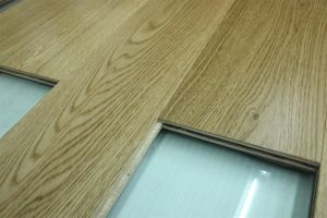 Ab Grade Wax Oil Wide Plank Oak Flooring pictures & photos