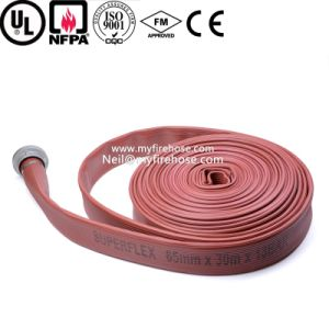 2 Inch Ageing Resistance of PVC Cotton Canvas Fire Water Hose pictures & photos