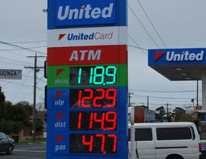 """Outdoor Remote Controlled 12"""" Gas Price LED Sign (TT30) pictures & photos"""